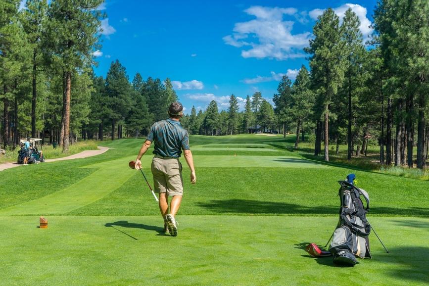 golf range field
