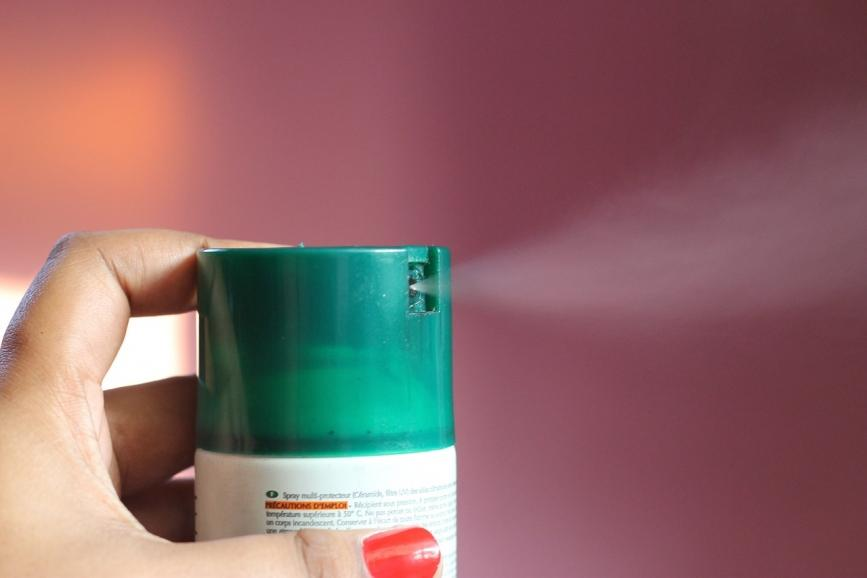 spray moisturize