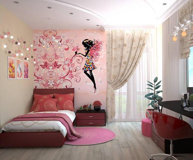 Kids room curtains