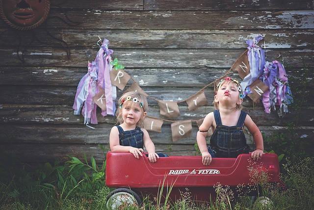 Foldable kids wagons