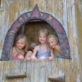 Kids' playing houses